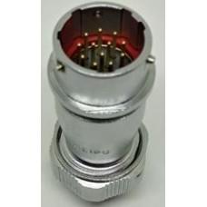 WY20J12ZE IP67 5 Amper Weipu Metal Bayonet Karşıt Tip Konnektör