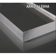 P1003006GL 100cm x300cm x6mm Şeffaf Pleksiglas Levha