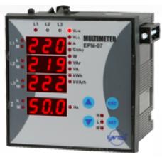 EPM-07S-DIN Şebeke Analizörü