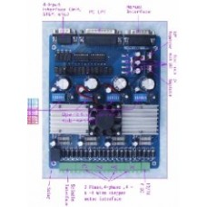 4 eksen LPT CNC kontrol  sürücü kartı
