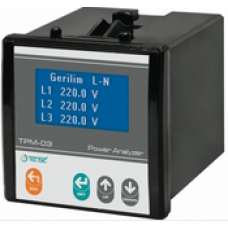 TPM-03 Enerji Analizörü 128x64 LCD