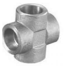 ASTM A 105 Soketli Kruva / İstavroz SW Geçme Kaynaklı Dövme Karbon Çelik