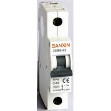 3SB1-63N 3 Kutuplu Otomatik Sigortalar(3kA C Tipi)