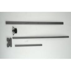 Monforts Giriş Kızak Karbonu 19X20X250 mm
