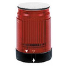 XVPC6M4 Kırmızı Strob/Siyah halka 0,6j 230V AC