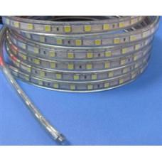 5050 3 Çipli 220 Volt Su Geçirmez Şerit Kırmızı LED