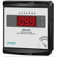 RGM-07E,3X20mm Display Monofaze Reaktif Güç Kontrol Rölesi