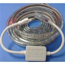 3 Çipli 220 Volt su Geçirmez Silikonlu Kırmızı(15mt)