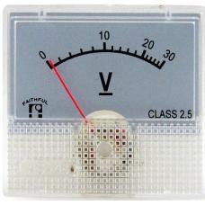AS-230B,48X45,300 VAC(Ekran44X25mm)Voltmetre